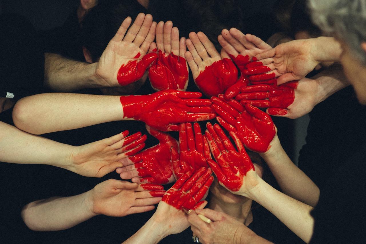 Hand Heart Colour